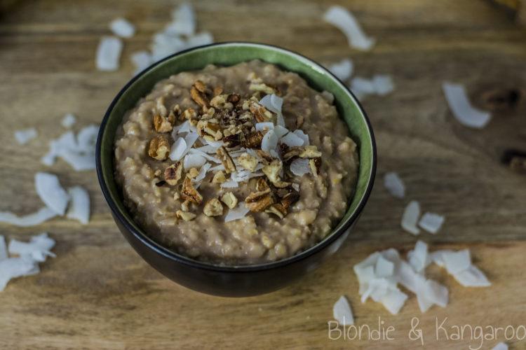 Owsianka czekoladowo-pomarańczowa/Orange chocolate porridge