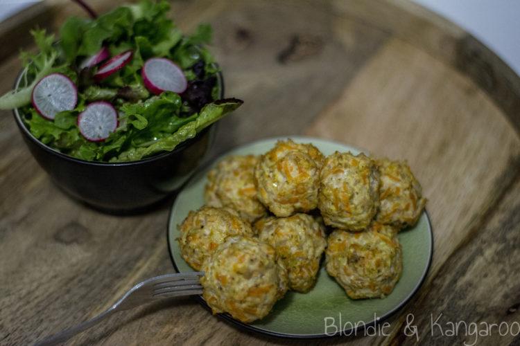 Drobiowe pulpety z marchewką/Chicken meatballs with carrot