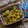 Pieczony kalafior z przyprawami/Roasted cauliflower with spices