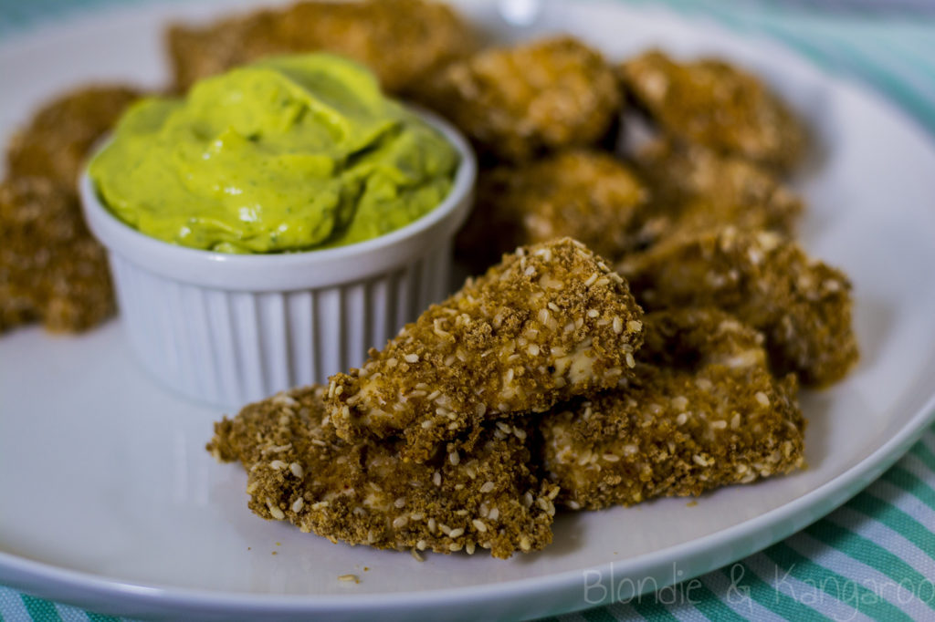 Zdrowe nuggetsy z kurczaka/Healthy chicken nuggets