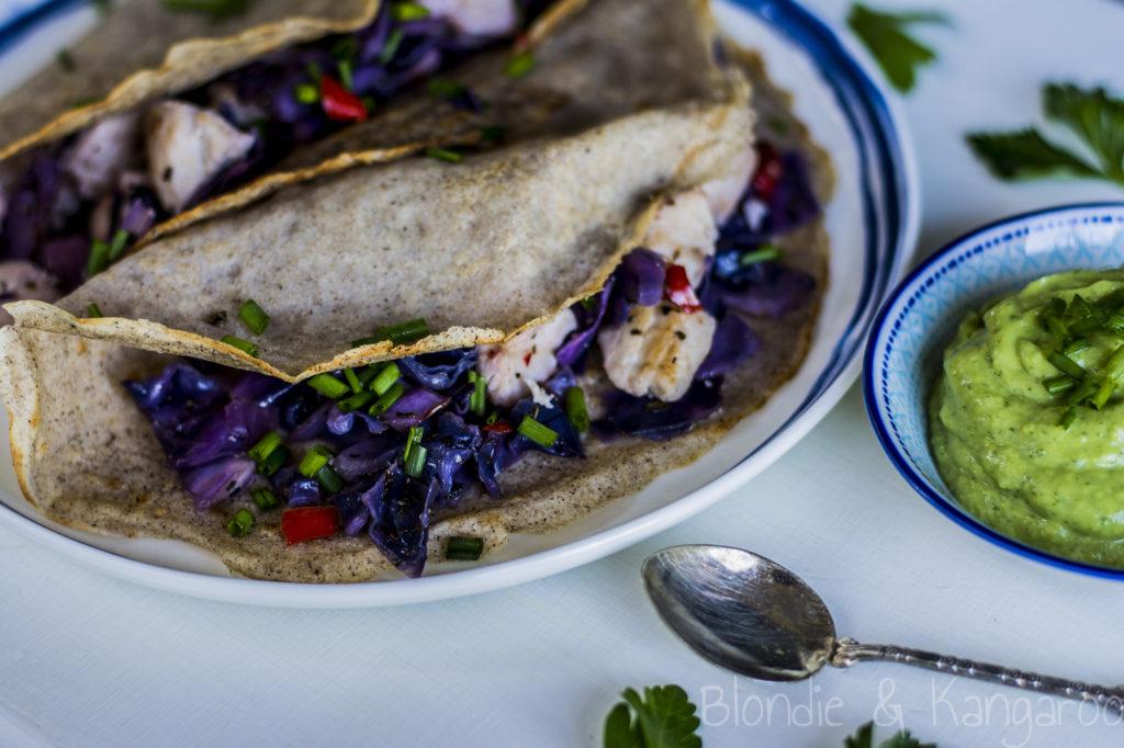 Wytrawne naleśniki gryczane (bezglutenowe)/ Savoury buckwheat pancakes (gluten-free)
