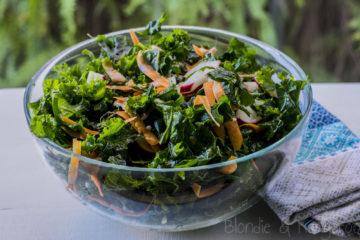 Sałatka z jarmużem/Kale salad
