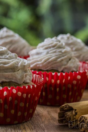 Bananowe babeczki (bez glutenu, bez cukru)/Banana cupcakes