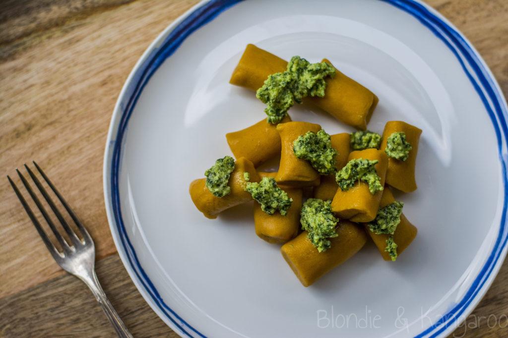 Bezglutenowe kopytka zdynii/Gluten-free pumpkin gnocchi