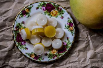 Galaretki o smaku mango z kokosem/Mango coconut gummies
