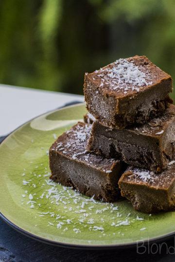 Dyniowe czekoladki/Pumpkin chocolate fudge