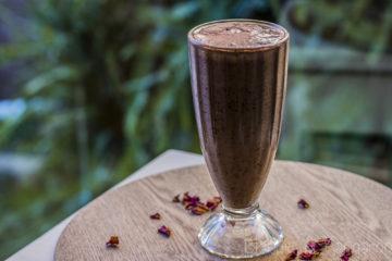 Koktajl borówkowo-dyniowy/Pumpkin blueberry smoothie