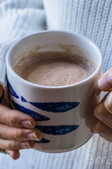 Domowa gorąca czekolada/Healthy homemade hot chocolate