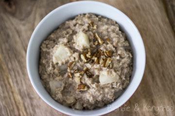 Pear Porridge/Owsianka z gruszką