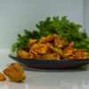 Batatowe kostki/Baked sweet potato cubes