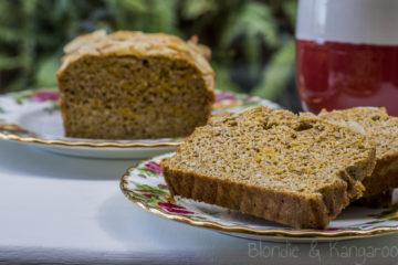Bezglutenowy chlebek dyniowy/Gluten-free pumpkin bread