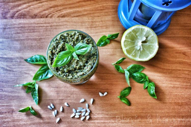 Pesto bazyliowe (paleo)/Basil pesto (paleo)