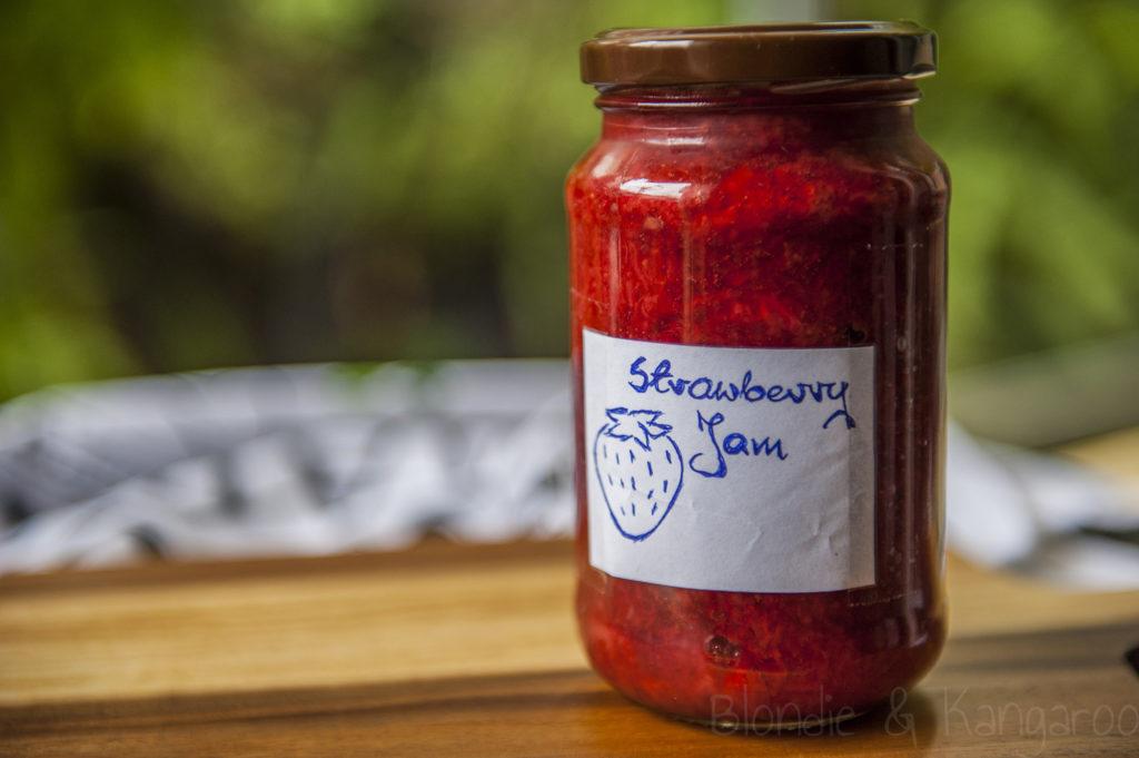Dżem truskawkowy bez cukru/Sugar-free strawberry jam
