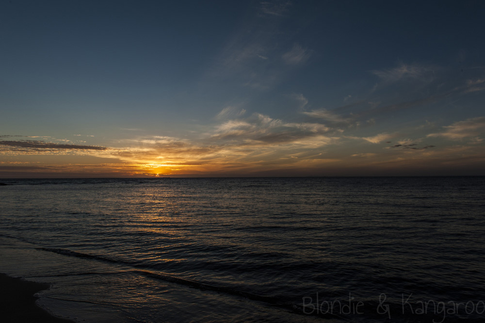 Sunset Brighton Beach Melbourne