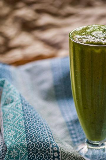 Zielony koktajl ze śliwką/Plum green smoothie