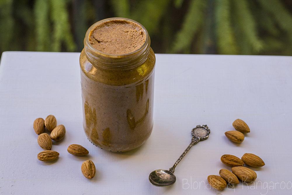 Masło migdałowe - Jak zrobić masło migdałowe wkilka minut