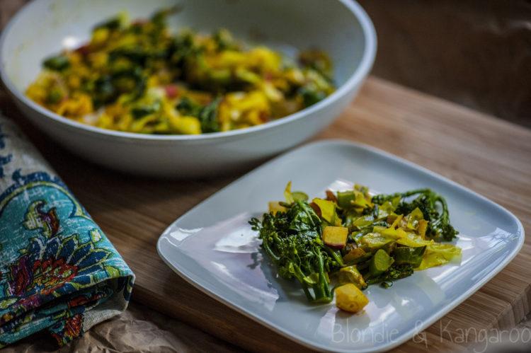 Zdrowe warzywa z patelni/Healthy stir-fry veggies