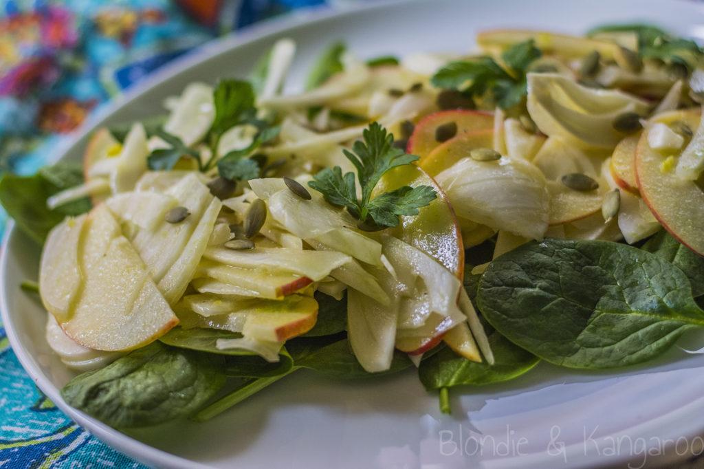 Sałatka zkopru włoskiego ijabłek/Fennel apple salad