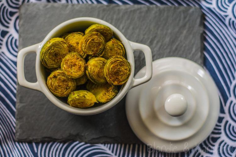 Roasted Brussels Sprouts/Pieczona brukselka