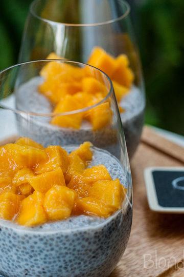 Mango chia pudding/Pudding chia z mango
