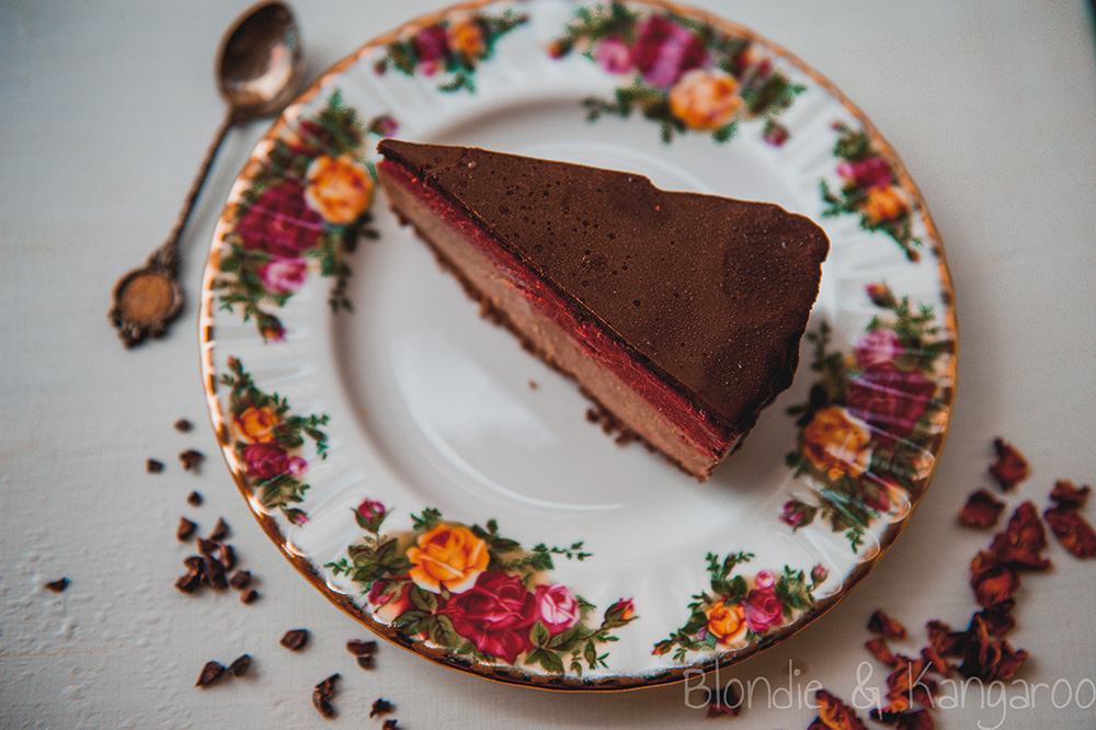 Chocolate fruit cake with cauliflower/Lodowe ciasto owocowo-czekoladowe z kalafiorem